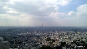 Parijs, vanuit de Sacré-Cœur